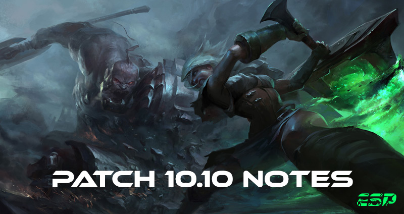 lol 10.10 patch notes